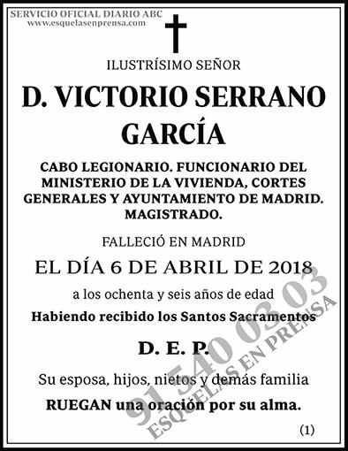 Victorio Serrano García